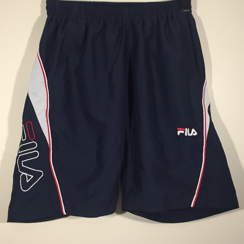 33a0e7a18bff @openoutfitters. last year. United Kingdom. Vintage Fila shorts/swim ...