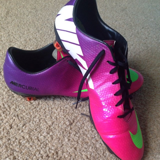 9610faa5208 ... norway nike mercurial pink purple green boots size 9.5 same as they  depop 91395 0b762 ...