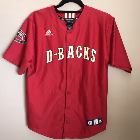 dd15f7517 MLB Arizona Diamondbacks jersey (youth L) fits like men s M - Depop