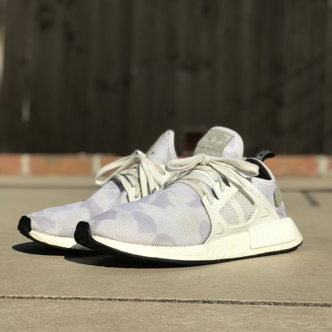 bc26c4bb74a68 Adidas NMD XR1 Arctic Camo 9 10 condition Message me for - Depop