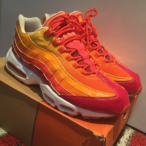 competitive price 3d302 8cad8  mutasim14. 4 years ago. London, UK. Nike Air Max 95  Human Torch  ...