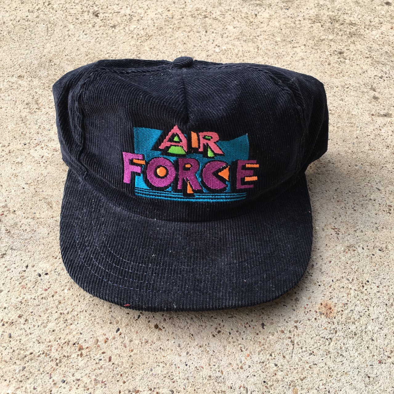 Vintage corduroy SnapBack cap in great condition could use a - Depop 2981d3e513b