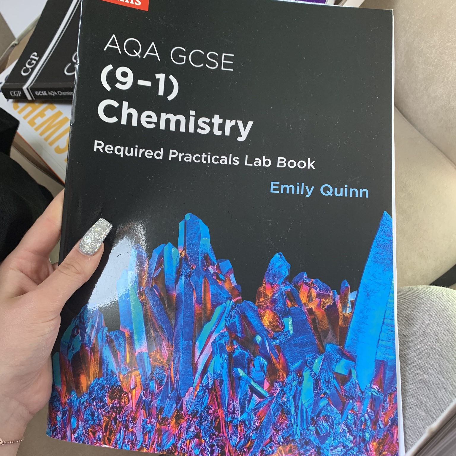 Chemistry triple aqa practical book! Hardly any    - Depop