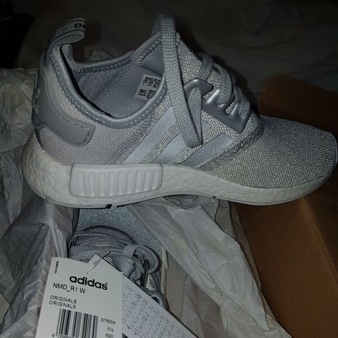 3f3d73a83 Brand new Adidas nmd R1 Matte Silver and white for sale