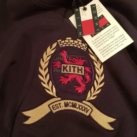 68230a18 @jacobagar. 6 months ago. Braunstone Town, Leicestershire, United Kingdom. Kith  x tommy Hilfiger jumper. Navy Size large ...