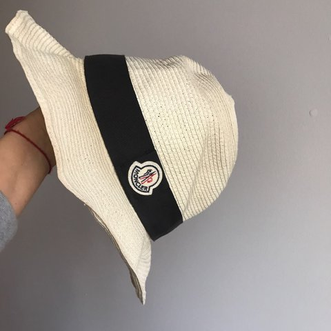 efee28df0 Moncler summer hat! One of my favorites and has been sitting - Depop