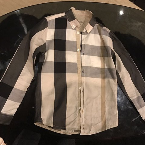 Burberry Boys Shirt My Son 0