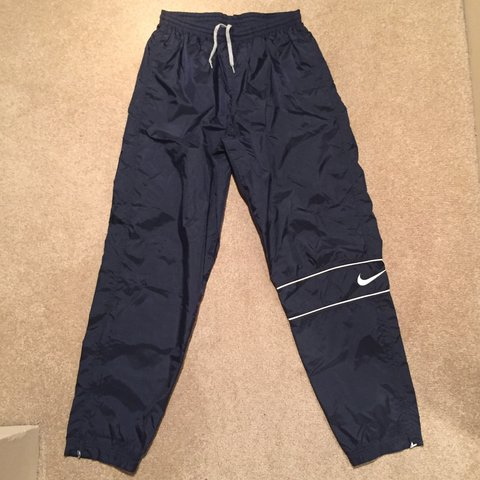 6e5ed3a98e1bb @ctinsch. 2 years ago. Commack, United States. Vintage 90s Nike Navy Track  Pants ...