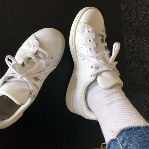 huge discount 7ec01 a1e95  agong. last year. Long Beach, CA, USA. Adidas Stan Smith, all white. Lightly  worn ...