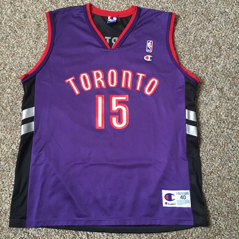 065fc1ada0f @wurevolution. 2 years ago. West Chester, United States. Vintage Champion  Vince Carter Jersey. Toronto Raptors.