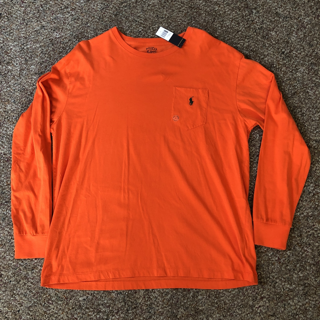 d65f47e8 @wurevolution. 11 months ago. West Chester, United States. Polo Ralph Lauren  long sleeve shirt. New with tags. Tagged size Large.
