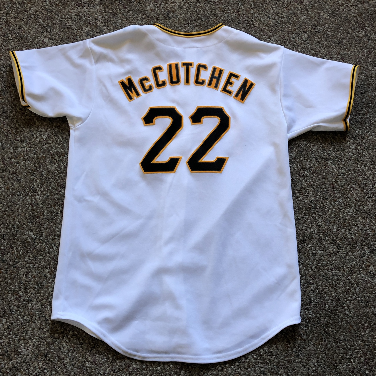 timeless design 4e969 34185 Andrew McCutchen Pittsburgh Pirates Jersey. Worn and ...