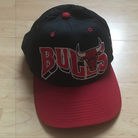 95194e65329 Vintage 90s Chicago Bulls snapback hat for sale. Great for - Depop
