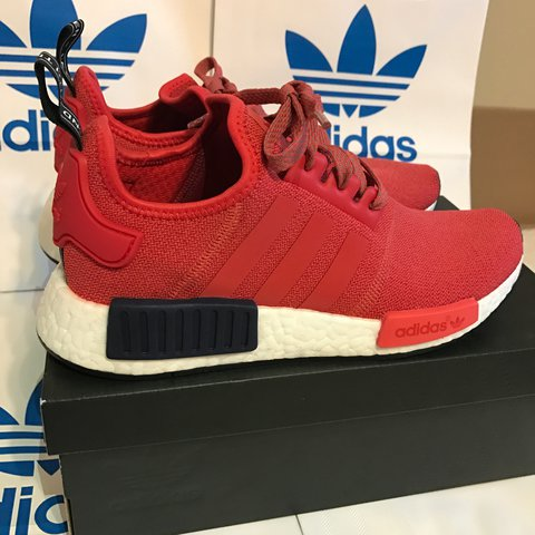 0e4208ac87f6d ... shopping womans adidas nmd r1s size 6.5 brand new with box just depop  2e3d9 aa691