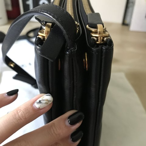 4546e73bdd90 I m selling my beloved black Celine Trio (large)