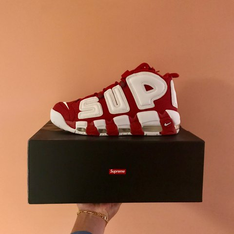 7748f07371dc Supreme Nike More Uptempo. 100% authentic pair of brand in - Depop