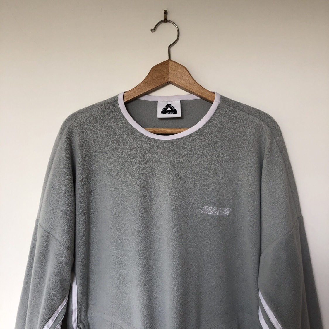 adidas fleece crewneck