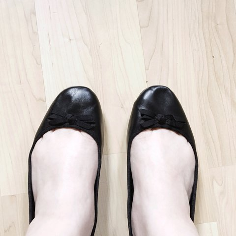 b54f1d3e91c4 Size 10 wide black bow flats from Torrid