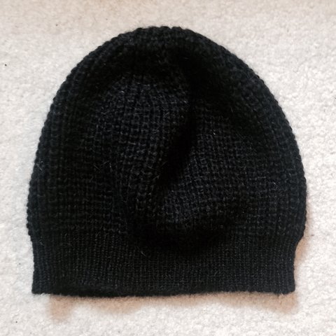 9e335bebc5abe All Saints Italian Yarn Men s Beanie RETAIL   80 SHIPPING  - Depop