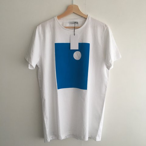 a2bb65e7 J.W ANDERSON Block print t shirt. Brand new with tags never - Depop
