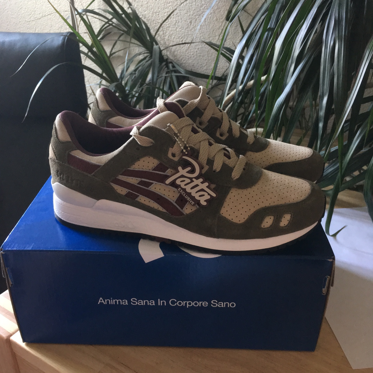 new style 2ae94 e03fc Asics Gel-Lyte III Patta exclusive Cond: 10/10... - Depop