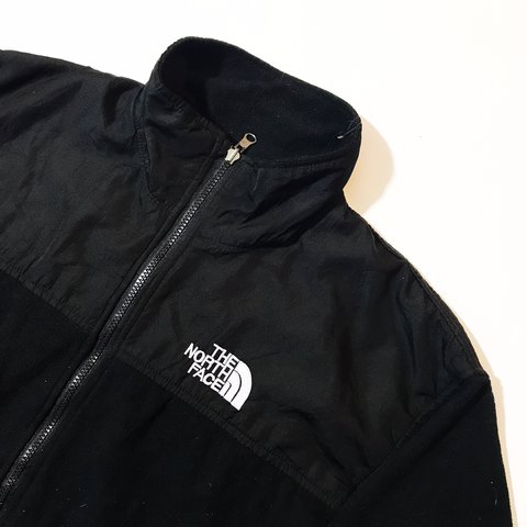 7dcb336d90 Vintage retro 90s 80s Black summit series The North Face TNF - Depop
