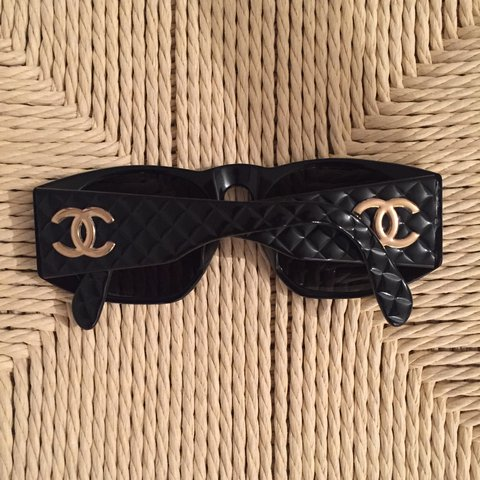 aae02147f7c Vintage Chanel sunglasses. Made in the 80 s early 90 s. Rare - Depop