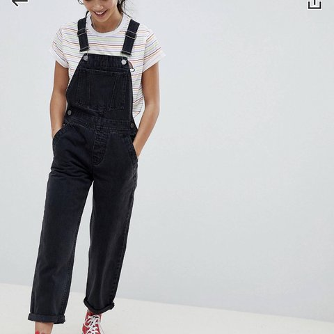 a13c238fcad ASOS PETITE DUNGAREES SIZE 8 🌸 Would fit as 6 as they are - Depop