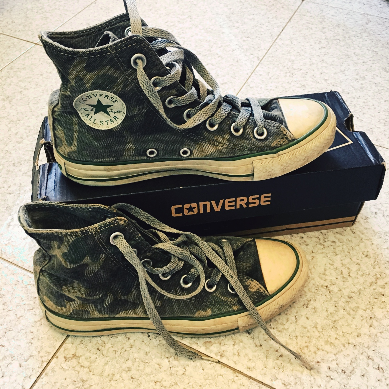huge selection of a5320 2772e Converse militari LIMITED EDITION n.36 Donna. Usate ...