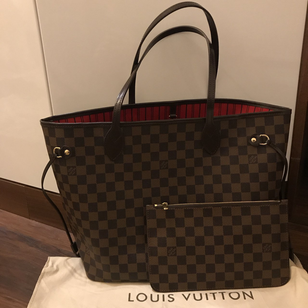 romeo 16. last year. United Kingdom. Louis Vuitton neverfull mm (high  quality replica) used ... 875168917a593