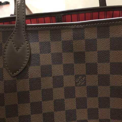 Louis Vuitton neverfull mm (high quality replica) used twice - Depop 7710cbdf75adb