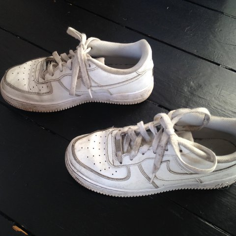 Vintage Nike Air Force one 1 in White