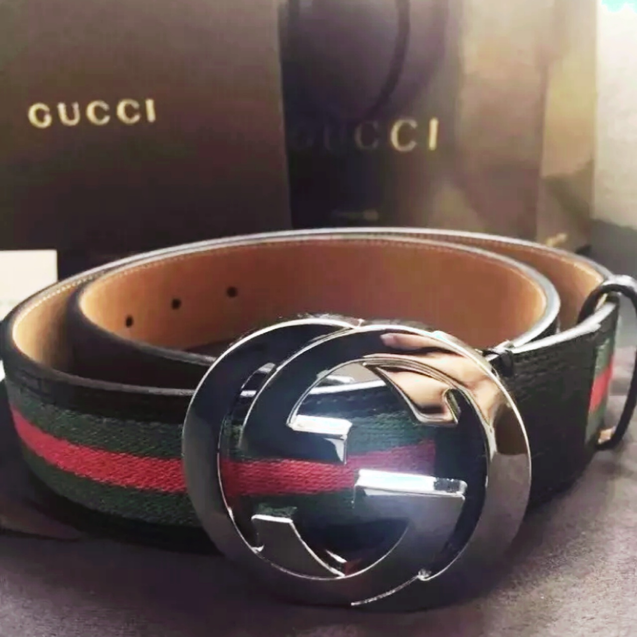 do all real gucci belts have serial numbers