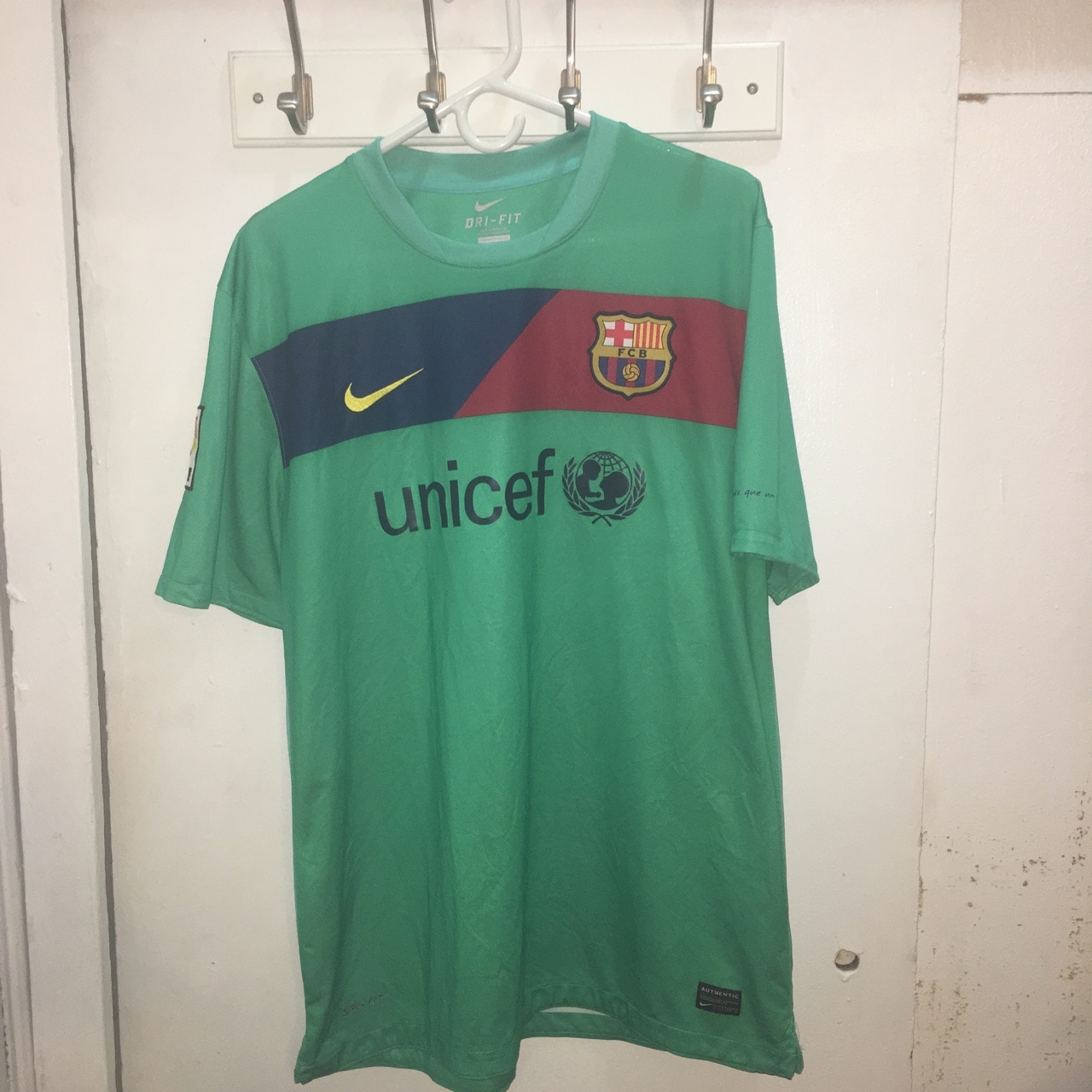 more photos 235ec 2e8f3 Barcelona Nike Soccer Authentic Jersey ⚽️. To all the ...