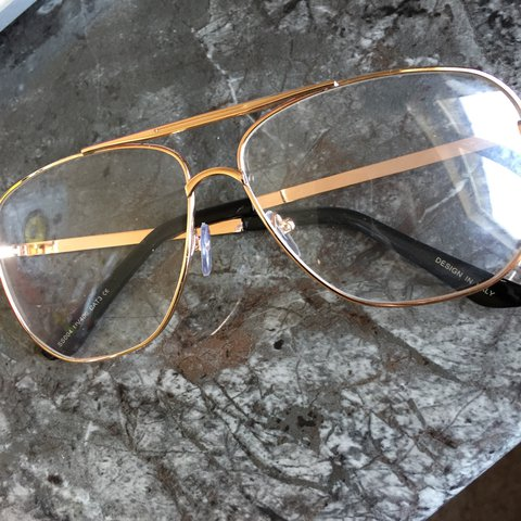 ad5b2b5b68 Rose gold vintage glasses. Brand new without tags. Look nice - Depop