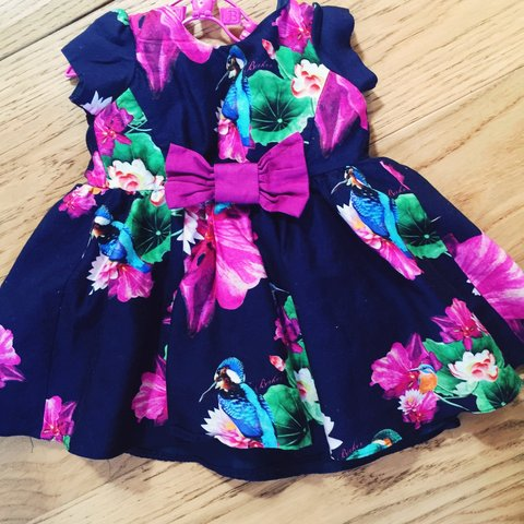 0e90b9c2a Ted baker baby dress 6-9 - Depop