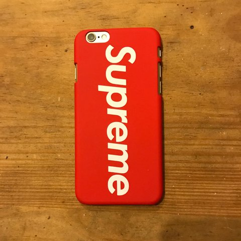 official photos f8ea7 0bd21 FREE SHIPPING Red 'Supreme' phone case for iPhone... - Depop
