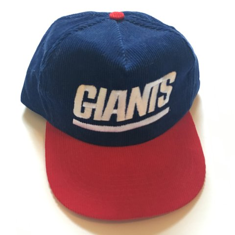 270d3519f9ab9a DEADSTOCK - For sale is a vintage corduroy New York Giants - - Depop