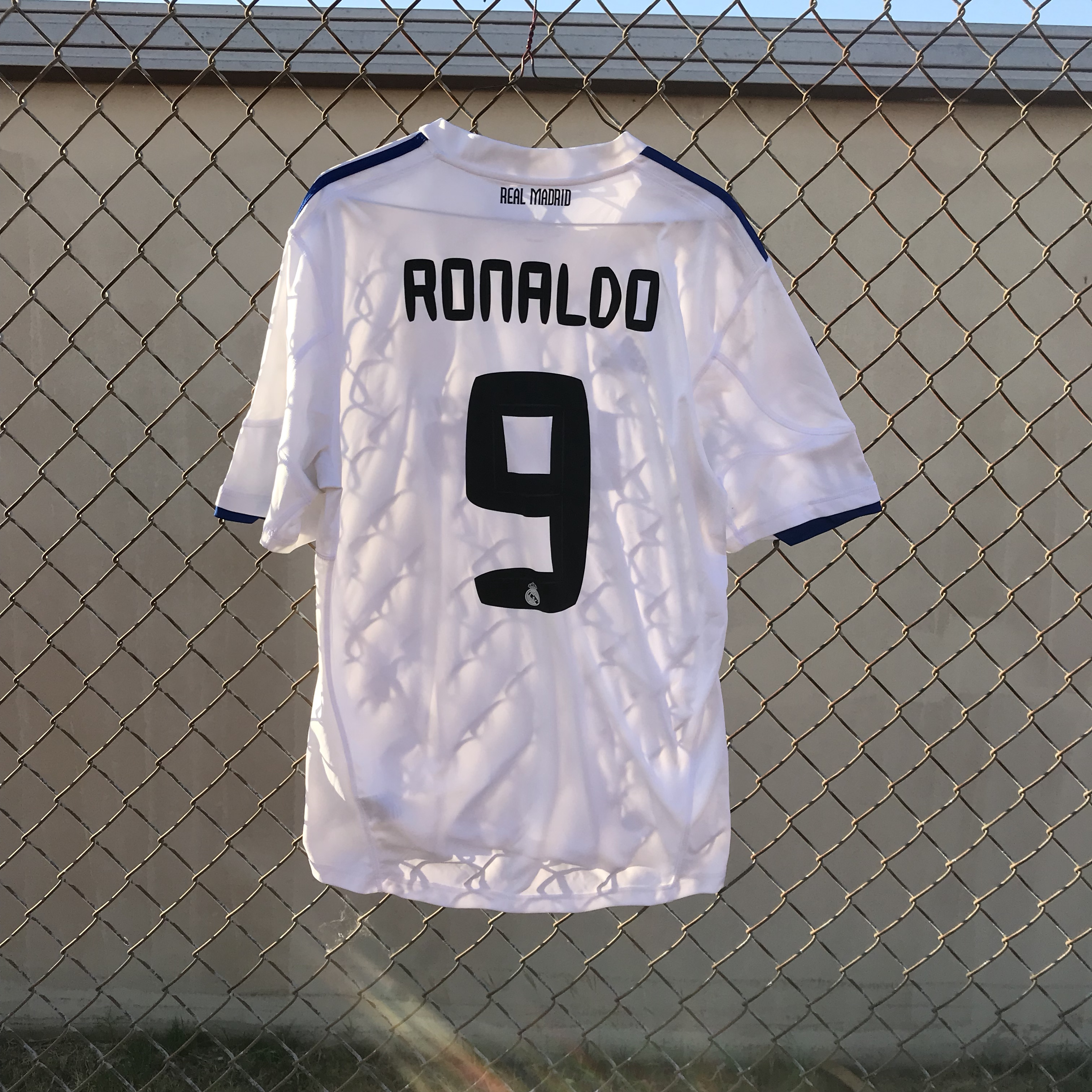 new style 1393f cc811 Cristiano Ronaldo Real Madrid #9 Soccer Jersey... - Depop