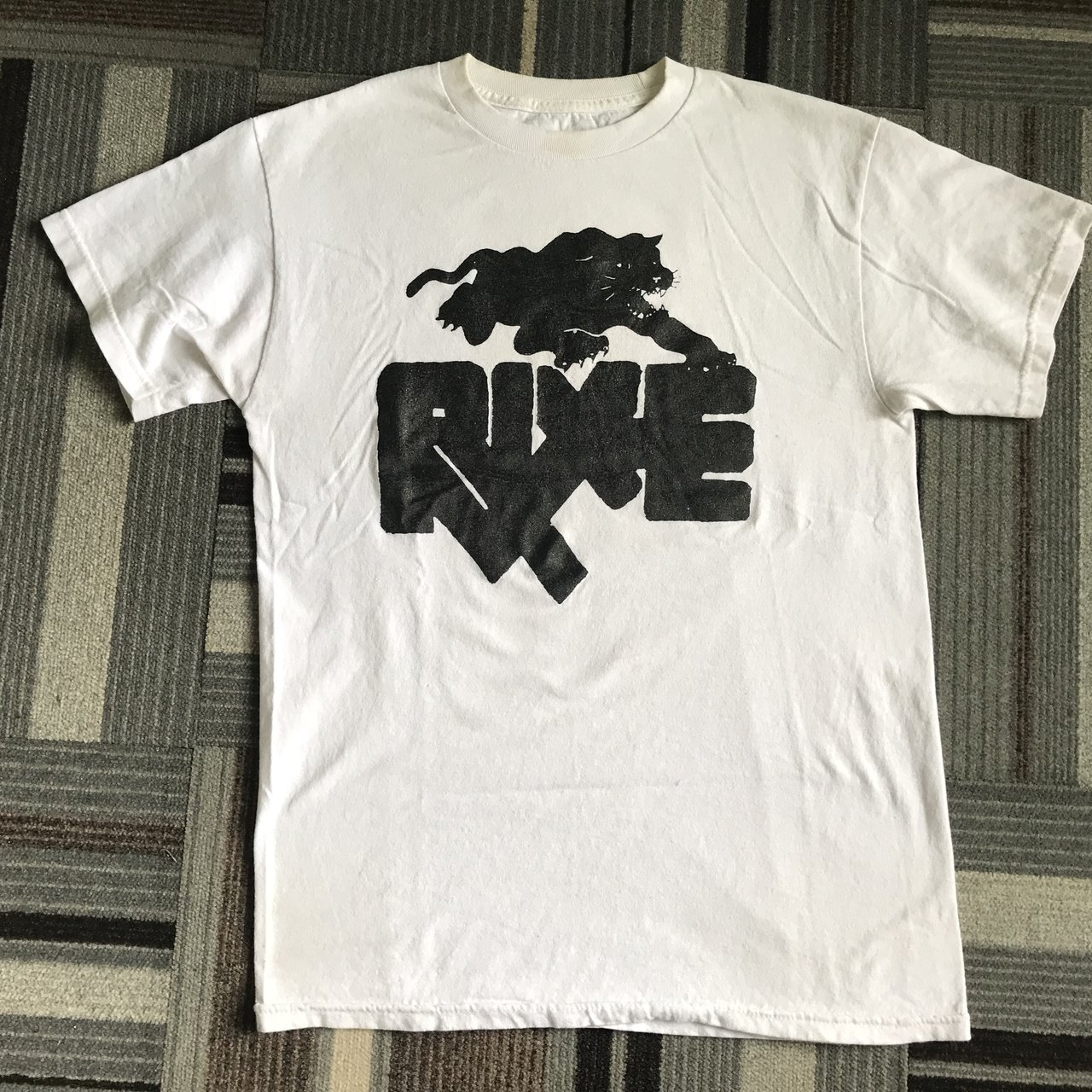 Rixe T Shirt Size Medium Tag Ripped Off For Comfort Sick Depop