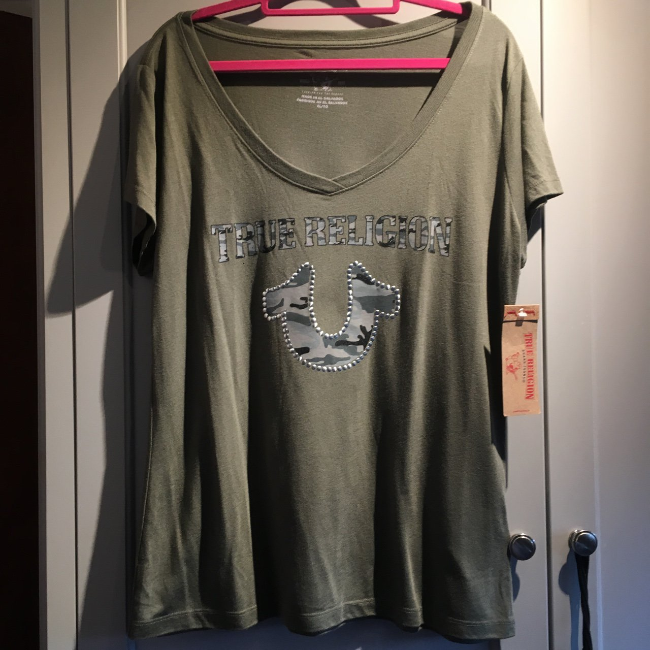 Womens True Religion T Shirt. Authentic Brand new bought but - Depop 077618dc11