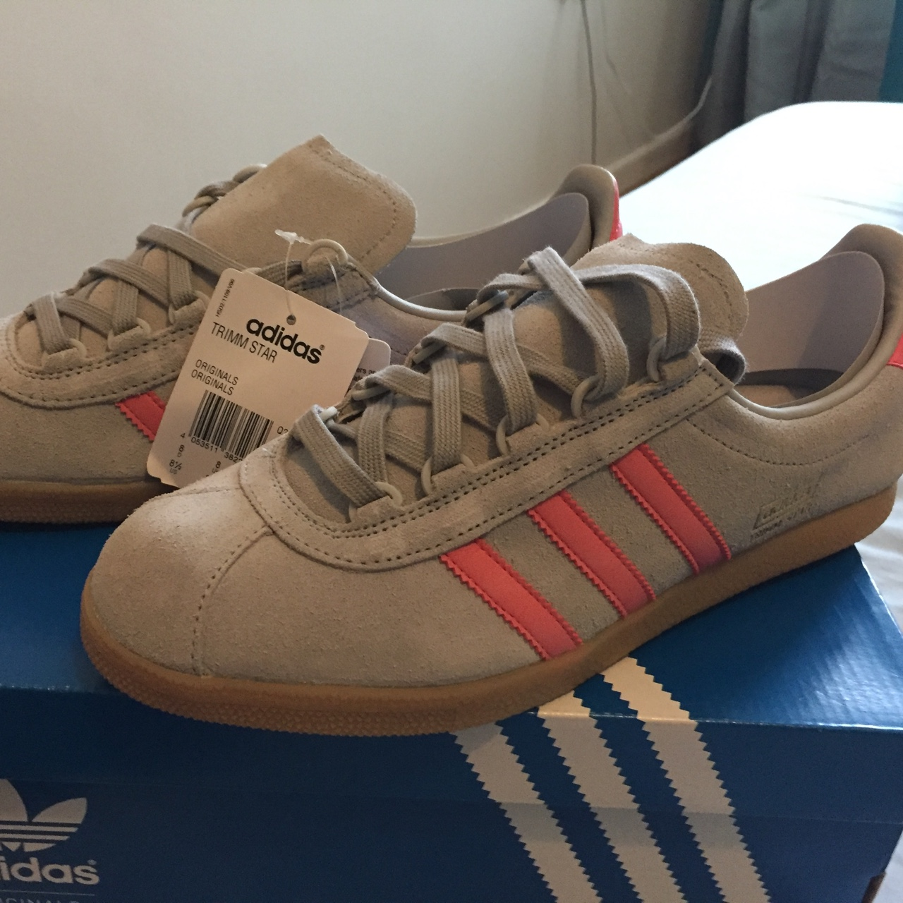 Adidas Trimm Star. Size 8. Brand new with tags. Depop