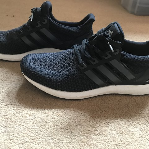 Adidas Ultra boost 2.0 Black Grey Great condition No for - Depop 9587823cb