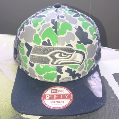 huge discount eb26a 416e3  trerichardson28. 2 years ago. Alabama, USA. ⋅Seattle Seahawks Snapback ⋅New  Era Brand (NFL ...