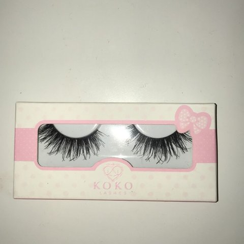 "6058b0e84b1 @cindycupcakes. last year. Newman, United States. KOKO Lashes ""Queen B"" New"