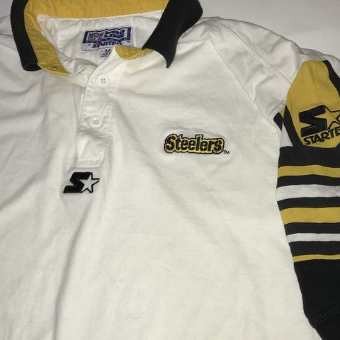 d608861923b Pittsburgh Steelers Polo Button Up Shirt  vintage  steelers - Depop