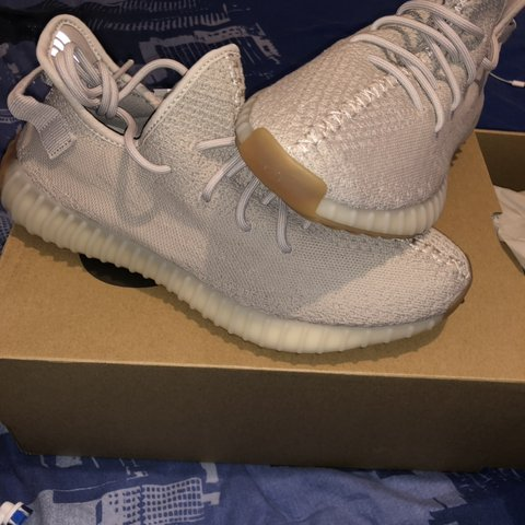 5c7be1434 Adidas YEEZY Boost 350 v2  Sesame  Size UK 9  Brand New and - Depop