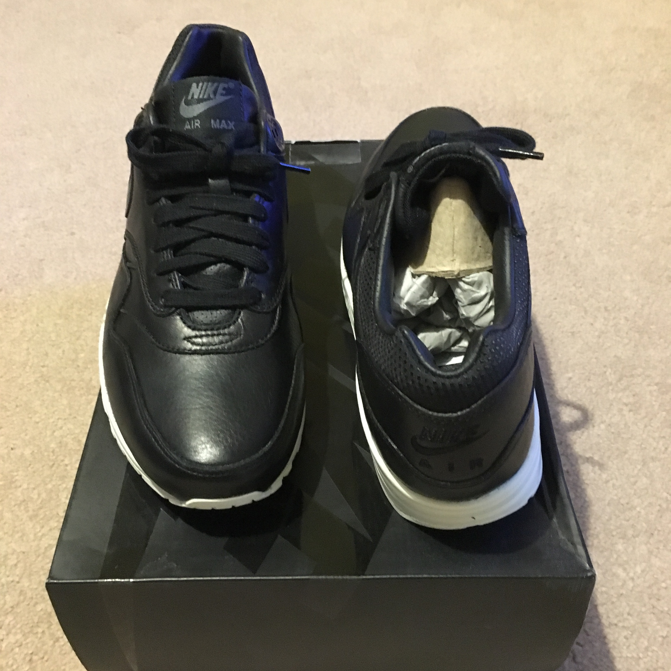 Nike Air Max 1 Air Max 1 Pinnacle black sail Depop