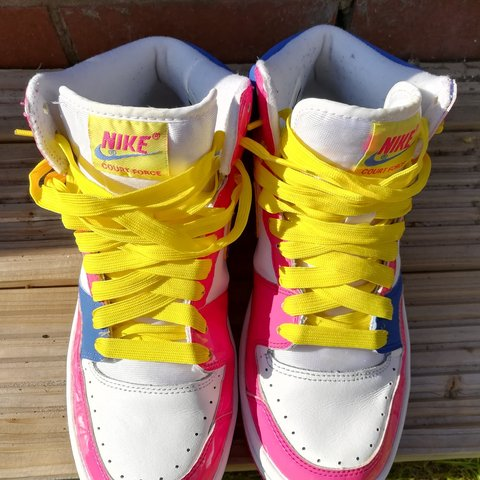 new arrival 166cd c8259  zebadee. 4 months ago. Southport, Merseyside, United Kingdom. Retro Nike  Court Force high tops ...