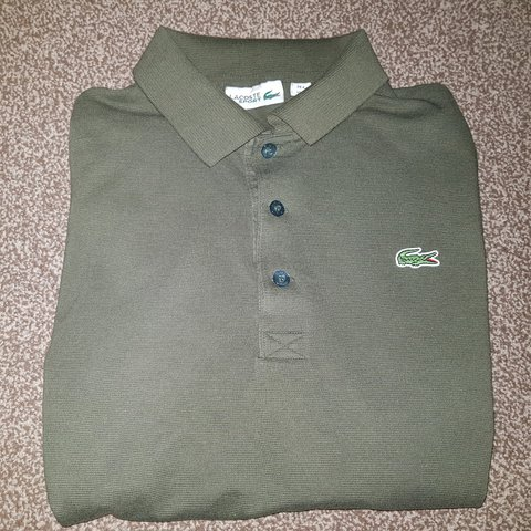 a8f59beeab BRAND NEW Lacoste Alligator Long Sleeve Polo Shirt - a - Depop